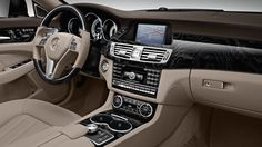 Mercedes Benz Interior CLS Class