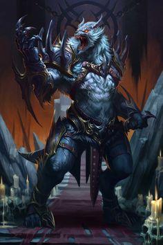 Wolf King by D. Rock-Art