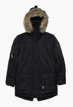 Kaporal BIRGA - Veste d'hiver - black - ZALANDO.CH Parka, Black Noir, Canada Goose Jackets, Boy Outfits, Winter Jackets, Boys, Clothes, Fashion, Faux Fur
