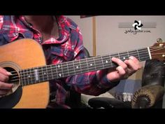 How to play Harvest Moon by Neil Young (Acoustic Guitar Lesson ST-903) - YouTube