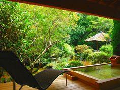 Rooms with open-air bath onyado-sakaya Japan shizuoka izu yoshina-onsen