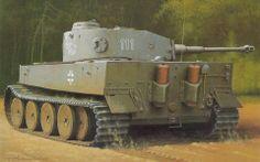 military art Tiger Tank