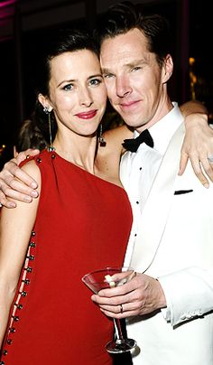 """""""Sophie Hunter and Benedict Cumberbatch attend the 2015 Vanity Fair Oscar Party hosted by Graydon Carter at the Wallis Annenberg Center for the Performing Arts on February 22, 2015 in Beverly Hills,..."""