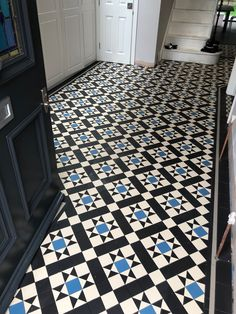 Victorian floor tiles and contemporary geometric ceramic tiles. Specialists in the design and supply of mosaic tile schemes. Modern Victorian Decor, Victorian Tiles, Floor Design, Tile Design, Vintage Tile Floor, Unique Flooring, Tile Flooring, Floors, Tiled Hallway