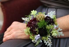 Bride wristlet from Love n Fresh Flowers