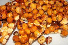 Lili popotte: Pralines Pretzel Bites, Potatoes, Bread, Fruit, Vegetables, Desserts, Ciel, Food, Candy Bars