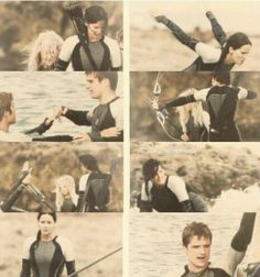 75Th hunget games! Catching fire photos!