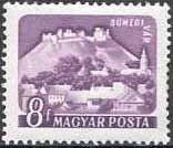 Znaczek: Sümeg (Węgry) (Castles (1960-64)) Mi:HU 1650A,Sn:HU 1282,Yt:HU 1335