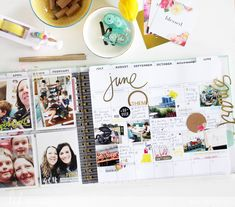 Kim Jeffress for Heidi Swapp Memory Planner finished pages