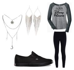 """""""Disney Black & Gray"""" by oasymons on Polyvore featuring NIKE, Vans and Jules Smith"""
