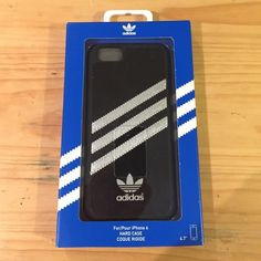 BLACK ADIDAS PHONE CASE Black Adidas phone case for iPhone 6. I ordered it but it didn't have raised edges for front protection like I wanted so now I'm selling! It feels sturdy, not made out of cheap material, and it fits the iPhone 6 perfectly. Adidas Accessories Phone Cases