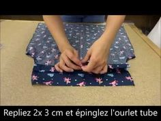 Coudre un Top Débardeur - Tuto Couture Facile - YouTube
