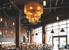Inspiring yet practical lighting solutions for hotels, restaurants, bars, pubs and retail. Bar Design Awards, Light Project, Restaurant Bar, Northern Lights, Centerpieces, Chandelier, Ceiling Lights, Lighting, Projects