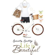 """Casually Coasting"" by tammyletterman on Polyvore"