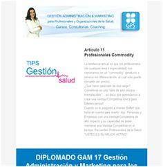 Se parte del Diplomado GAM 17 Gestión Administración & Marketing para Profesionales de la Salud