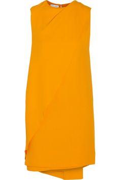 Narciso Rodriguez|Draped crepe mini dress|NET-A-PORTER.COM