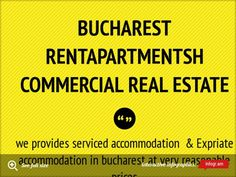 Bucharest RentapartmentsH Commercial Real Estate -