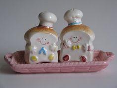 vintage Japan lil toast salt and pepper shakers set by Siri_Mae_doll, via Flickr