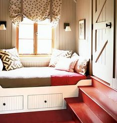 painted bunk room
