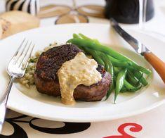 Filet Steaks with an Irish Whisky & Cream Pan Sauce Recipe