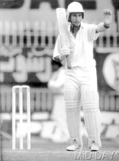 16-year-old @sachin_rt #SachinTendulkar during his Test debut in the first Test match against Pakistan at Karachi in November 1989.