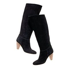 Call me crazy. It's June, and I am considering buying Madewell suede black boots for autumn - at a third of their original price. #planning