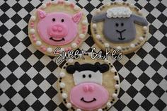 Sweet Cakes: Farm Animal Cookies
