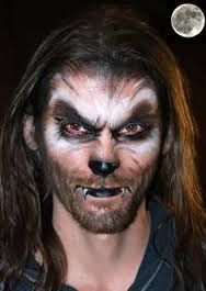 Image result for werewolf facepaint