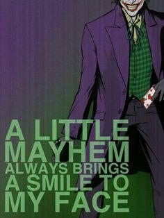 Villains Poster - Joker Canvas Print / Canvas Art by Christopher Ables | Joker, Harley quinn and Comic