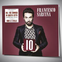 Copertina e Artwork per il CD e la versione Digitale dell'album IO di Francesco Sarcina, che contiene i brani Nel Tuo Sorriso e In Questa Città, presentati a Sanremo 2014.