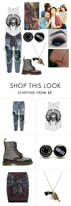 """""""photoshot with the walking dead cast"""" by ashngods on Polyvore featuring One Teaspoon, Dr. Martens, 3.1 Phillip Lim and Betsey Johnson"""