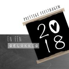 Kerstkaart zwartwit 2018-IP, verkrijgbaar bij #kaartje2go voor € 1,99