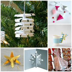 Christmas Paper Craft Tutorials by all things paper, via Flickr