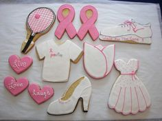 Breast Cancer Awareness by ruthiescookies on Etsy, $48.00