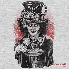 Camiseta 'Alice no país dos horrores' - Catalogo Camiseteria.com