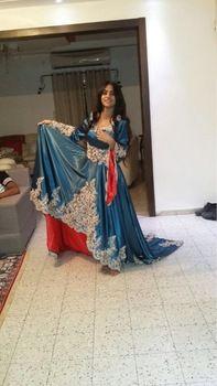 Tienda Online Verdadero de la muestra 2015 Dubai Kaftan Appliqued largo vestidos de noche caftán Abaya en Dubai manga larga árabe musulmán del vestido de noche | Aliexpress móvil