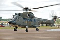 Swiss Air Force Super Puma arrives RIAT Fairford 10thJuly2014 arp - Eurocopter AS332 Super Puma - Wikipedia, the free encyclopedia