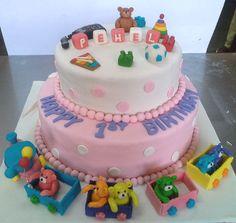 1St Birthday Cake For Your Sunshine