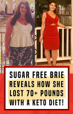 Find Out How Brie Simeoni Lost 75 Pounds By Switching To A Keto Diet! Best Weight Loss, Weight Gain, Weight Loss Tips, Beauty Tips For Girls, Health And Beauty Tips, Master Cleanse Diet, Best Cardio Workout, Week Workout, Workout Exercises
