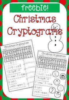 Christmas code cracker ks12