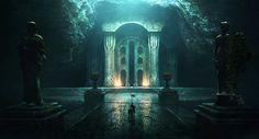 ArtStation - Nargathrond , Jonathan Guzi