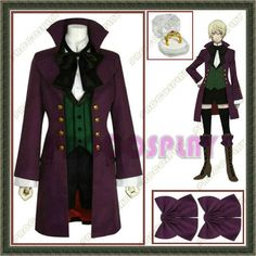 Black Butler Alois Trancy Anime Cosplay Costume by procosplay, $89.00 (up to size 3XL)