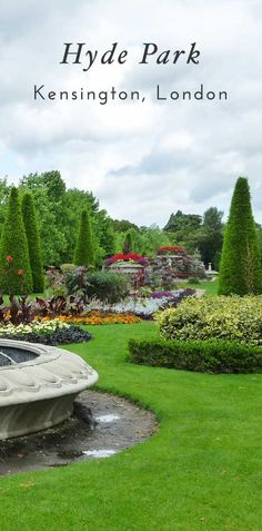 top ten cities for 2017 Hyde Park London, one of the best spots to visit in London and Kensington. Click through for a full list of the best spots to visit in Kensington!