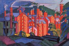 Oscar Bluemner (1867-1938) - Jersey Silk Mills