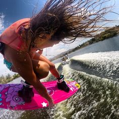 Want to catch a ride without getting wet? Follow pro wakeboarder Melissa Marquardt, who's been shredding around the globe for over 10 years. She's proof that ladies can drop big tricks!
