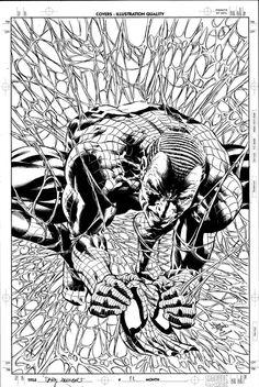Dark Avengers 11 Cover Pencil by ~MikeDeodatoJr on deviantART