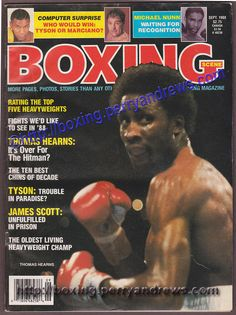 1988 September BOXING SCENE Thomas Hearns