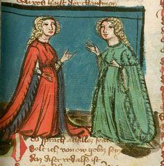 Jansen Enikel, Jans: Weltchronik Bayern-Österreich, 1. Hälfte 15. Jh. Cgm 250 Folio 317