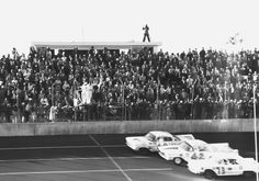Photo finish at the first running of the Daytona 500 in 1959