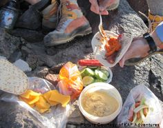 Ideas for easy backpacking and hiking meals that don't add much weight to your load